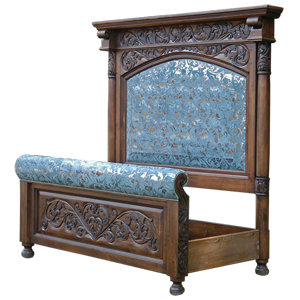 Spanish Colonial Beds | Spanish Colonial Furniture