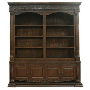 Spanish Colonial Bookcases | Spanish Colonial Furniture