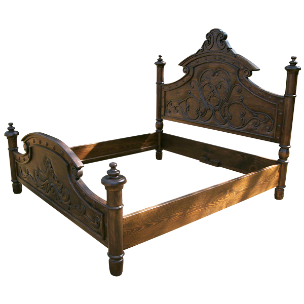 Florencia Bed Jorge Kurczyn Spanish Colonial Furniture