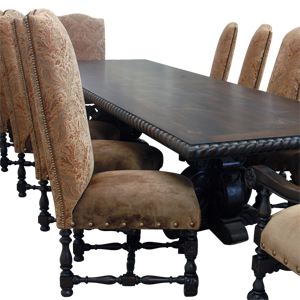 tbl16 | Spanish Colonial tables | Spanish Colonial dining room | Spanish Colonial Furniture