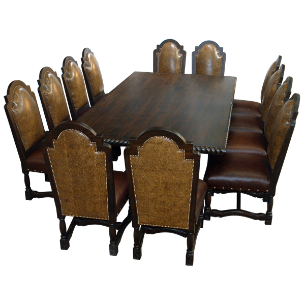 tbl16a | Spanish Colonial tables | Spanish Colonial dining room | Spanish Colonial Furniture