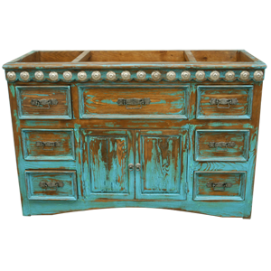 Vanities jorge kurczyn spanish colonial furniture for Colonial style bathroom vanities